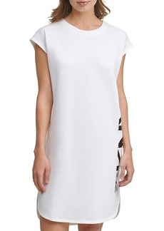 DKNY French Terry Logo T-Shirt Dress