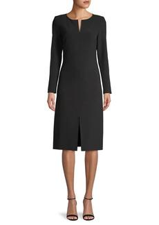 DKNY Front Slit Dress