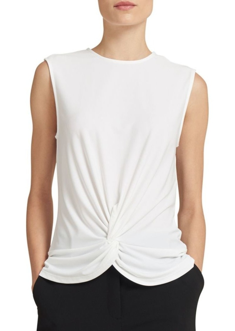 DKNY Front Twist Sleeveless Top