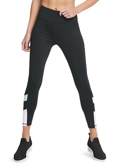 DKNY Graphic Banded Leggings