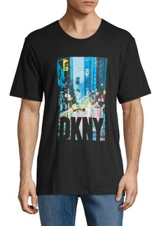 DKNY Graphic Cotton Tee
