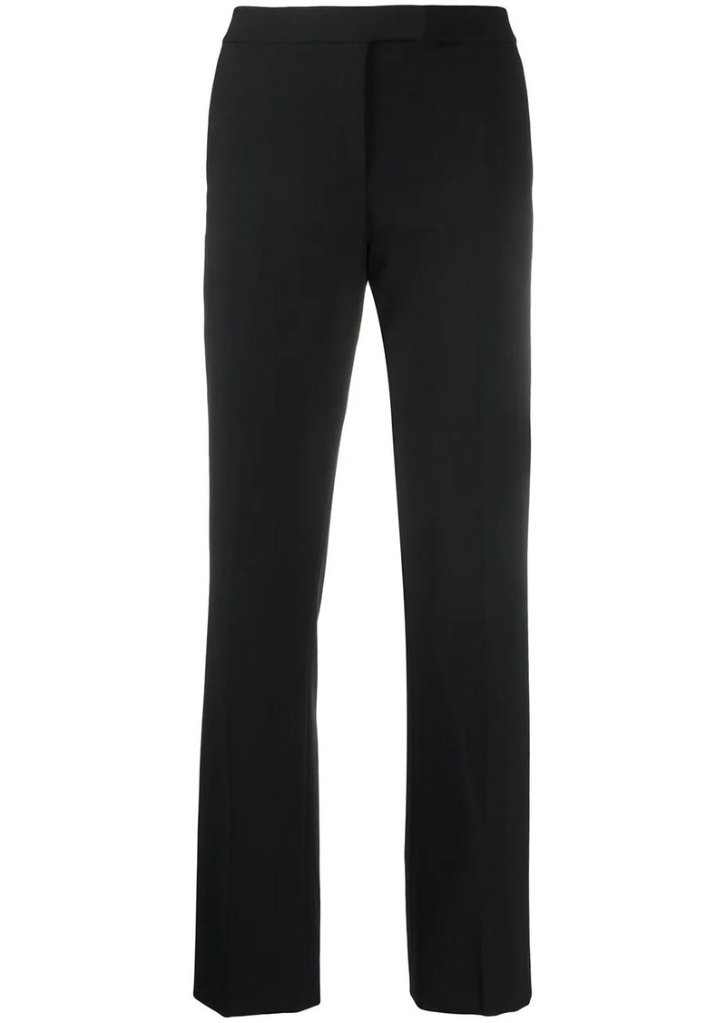 DKNY high-rise straight-leg trousers