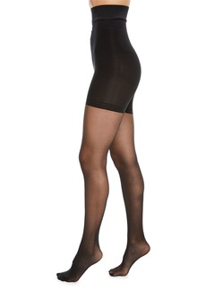 DKNY High-Waist Control-Top Tights