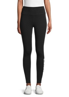 DKNY High-Waist Logo Leggings