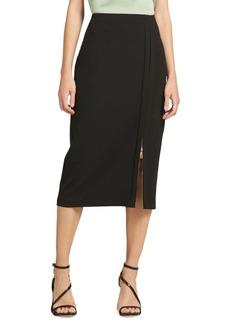 DKNY High-Waist Pencil Skirt