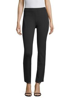 DKNY High Waisted Straight Leg Pants