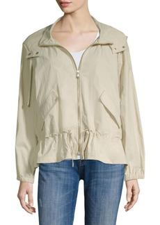 DKNY Hooded Long-Sleeve Jacket