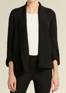 DKNY Icon Long Sleeve Open Front Sweater