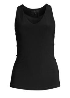DKNY Icons Sleeveless V-Neck Top