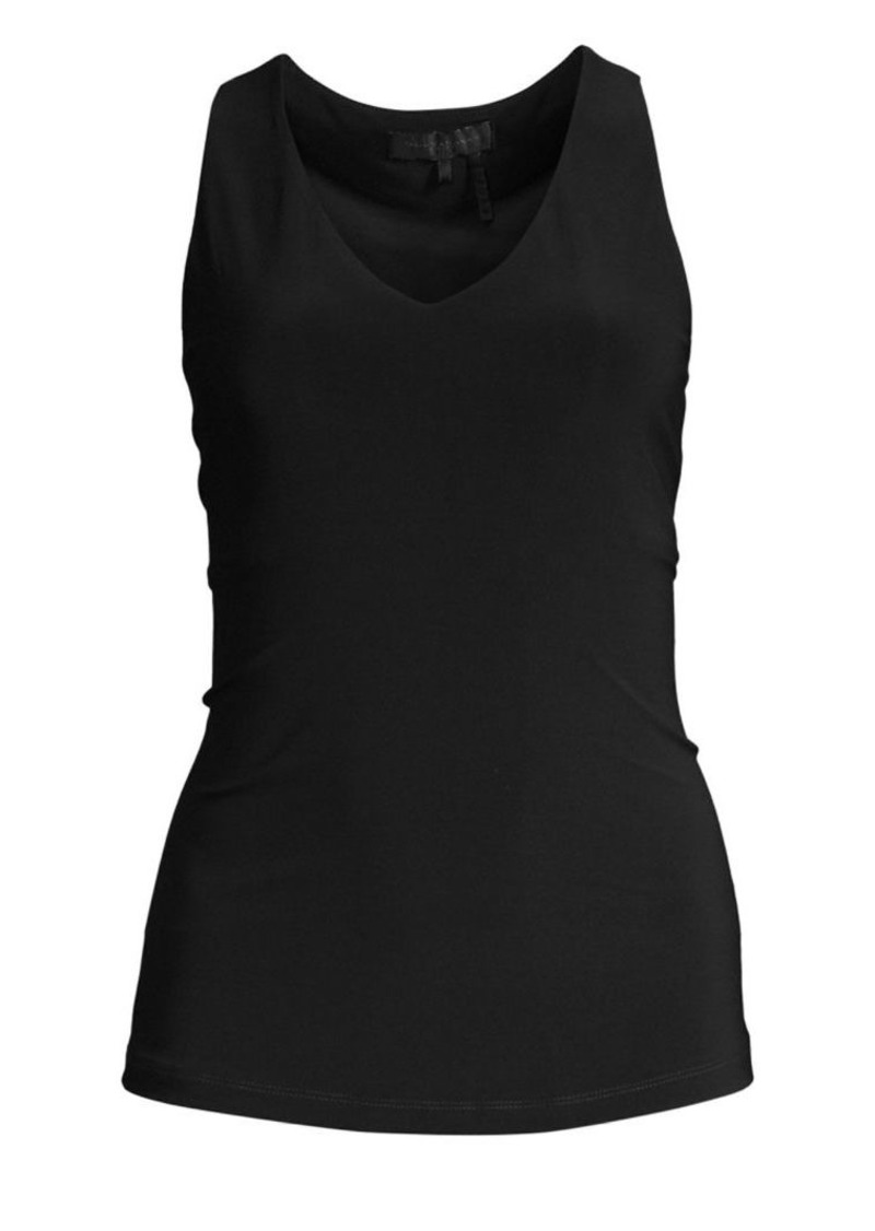 DKNY Icons Sleeveless V-Neck Top