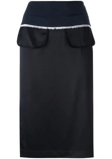 DKNY inside out pencil skirt