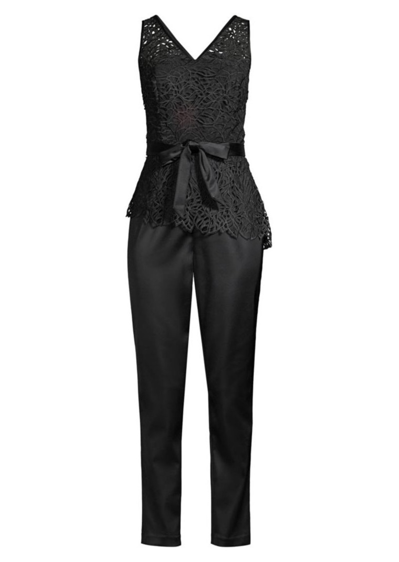 DKNY Ivy Lace Top Jumpsuit