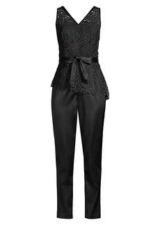 DKNY Ivy Lace Top Jumpsuit