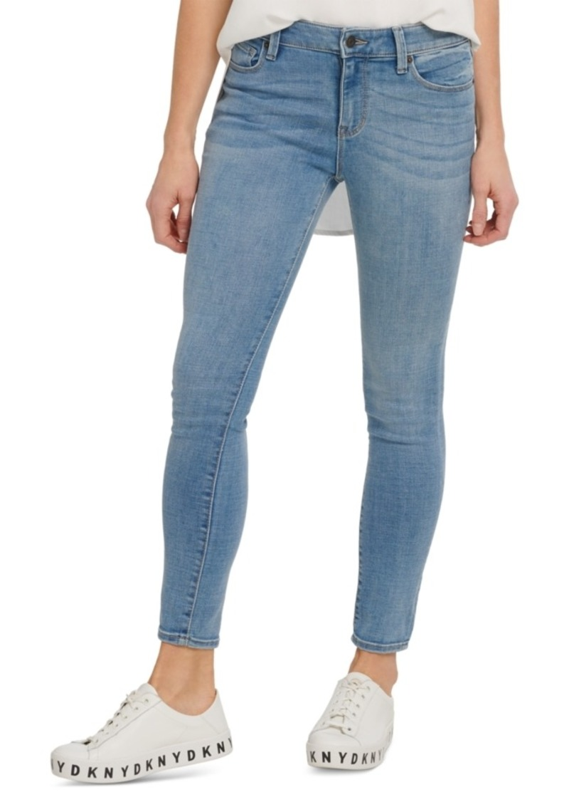 Dkny Jeans High-Rise Skinny-Fit Ankle Jeans