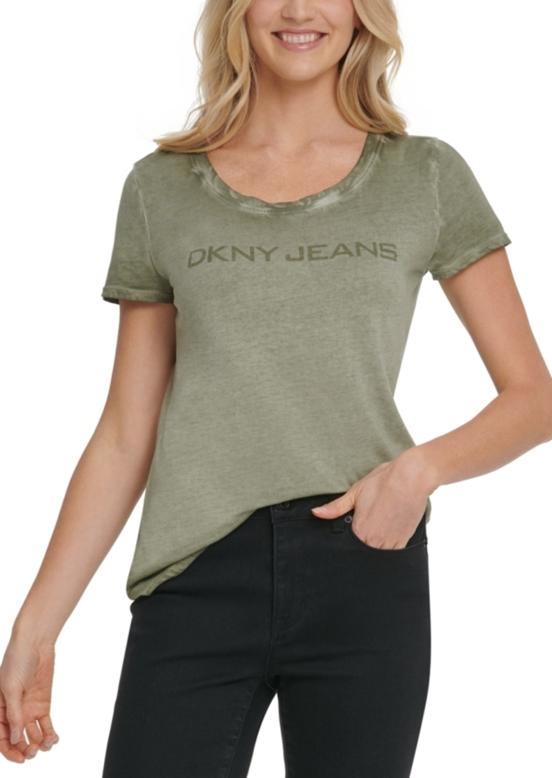 Dkny Jeans Logo-Graphic T-Shirt