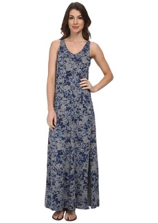 DKNY Jeans Star Floral Printed Maxi Dress