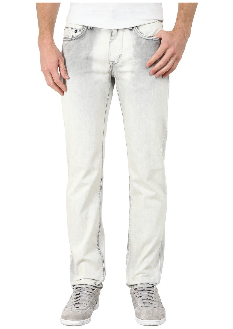 DKNY Jeans Williamsburg Jeans in Europa Grey Acid Wash