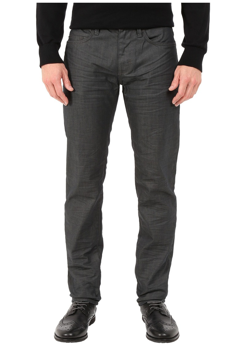 DKNY Jeans Williamsburg Slim Jeans in Coated French Grey Wash