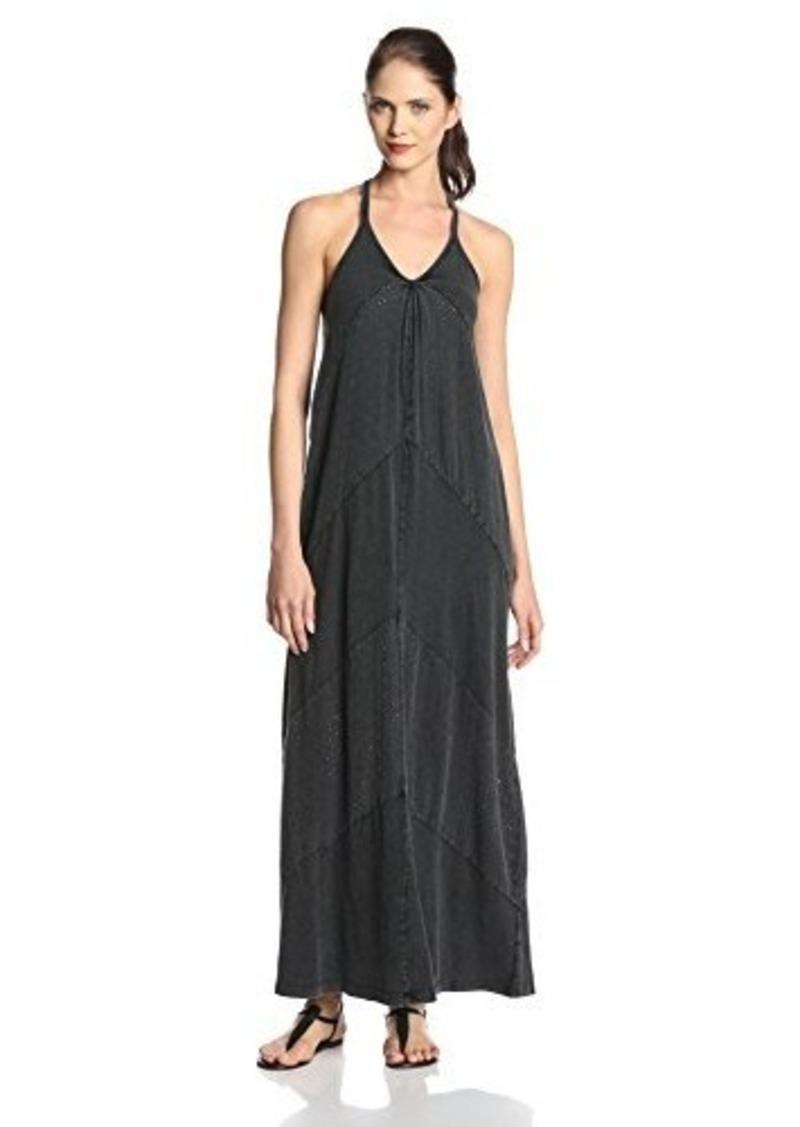 DKNY Jeans Women's Acid Wash Shiffley and Jersey Dress