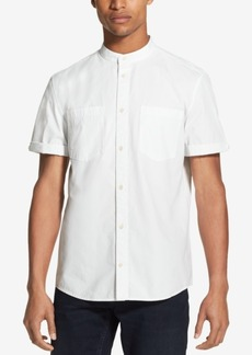 DKNY Jeans Dkny Men's Banded Collar Woven Shirt
