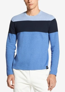 DKNY Jeans Dkny Men's Colorblocked Crew-Neck Sweater