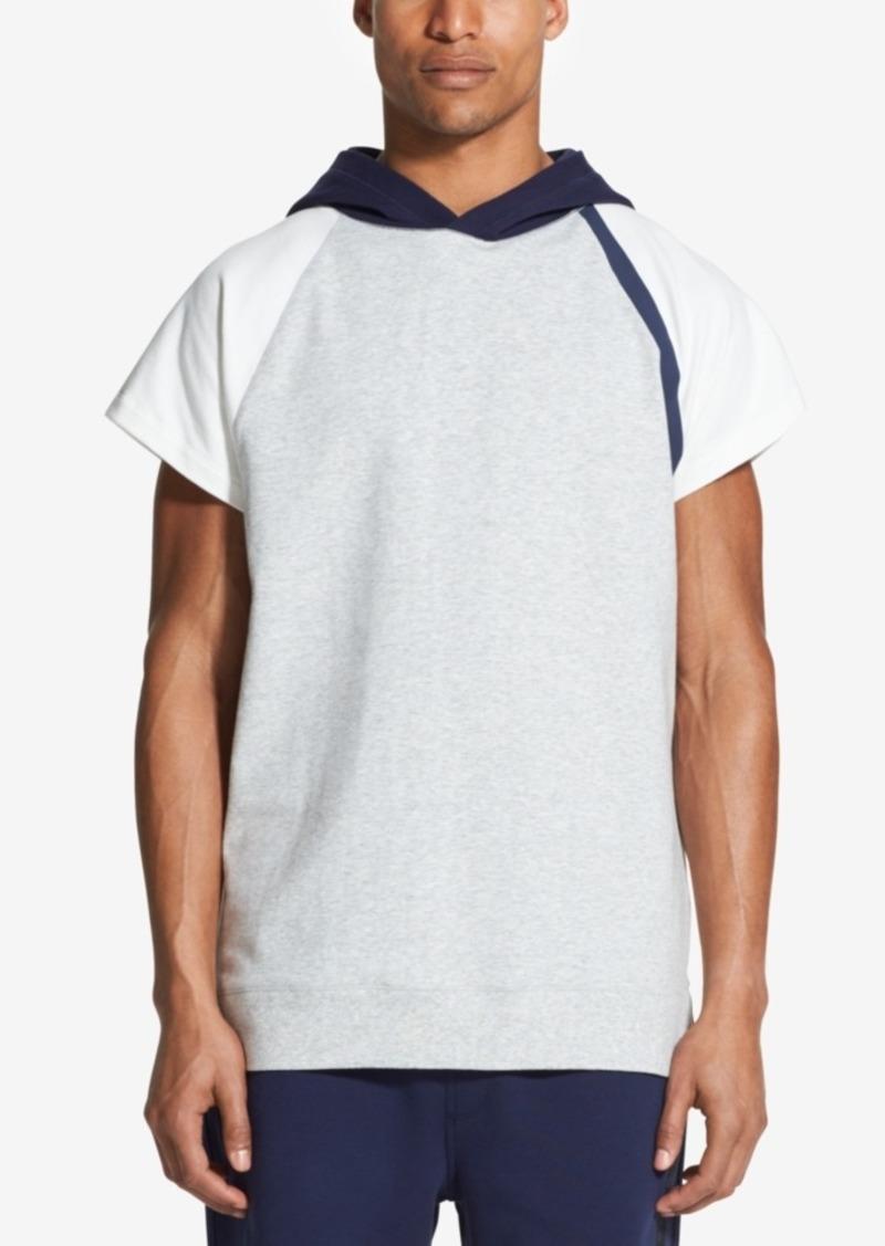 dd72458393bf19 DKNY Dkny Men's Colorblocked Hooded Raglan-Sleeve T-Shirt | T Shirts