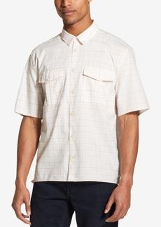 DKNY Jeans Dkny Men's Woven Windowpane Shirt