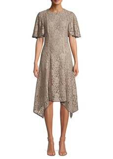 DKNY Lace Handkerchief Dress