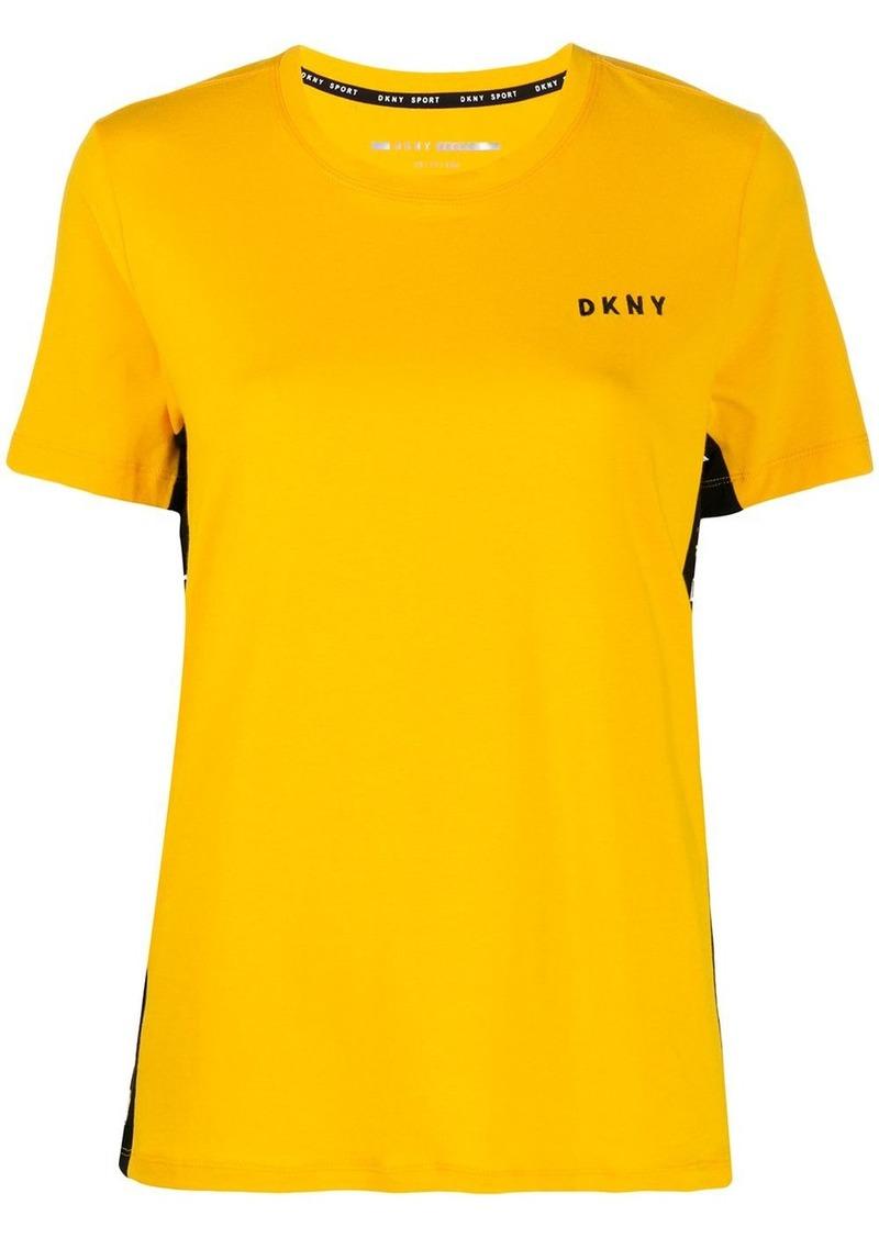 DKNY logo panel T-shirt