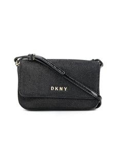 DKNY logo plaque cross body bag