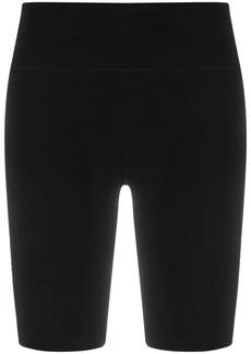 DKNY logo print cycling shorts