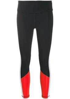 DKNY logo print leggings
