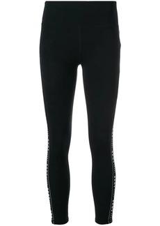 DKNY SPORT logo stripe leggings
