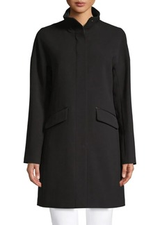 DKNY Long-Sleeve Full-Zip Coat