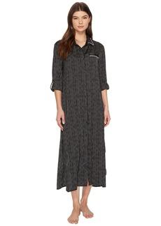 DKNY Long Sleeve Maxi Sleepshirt