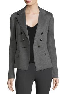 DKNY Long-Sleeve Skinny Double-Breasted Jacket