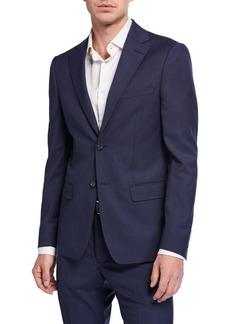 DKNY Men's Slim-Fit Pinstripe Wool Suit