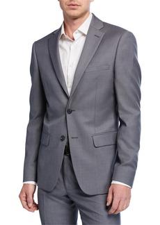 DKNY Men's Two-Piece Tic Weave Wool Suit