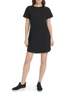 DKNY Mesh-Back T-Shirt Dress