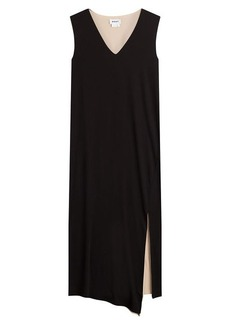 DKNY Midi Dress with Slit