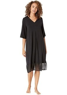 DKNY Modal Spandex Sleepwear Long Sleepshirt