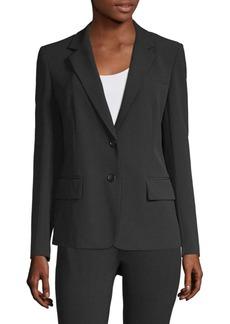 DKNY Notch Collar Blazer