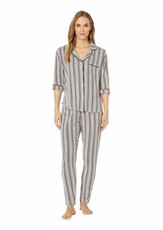 DKNY Notch Collar Pajama Set