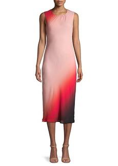 DKNY Ombré Midi Dress