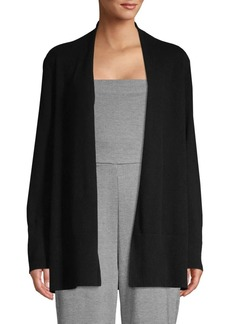 DKNY Open Front Cashmere Cardigan