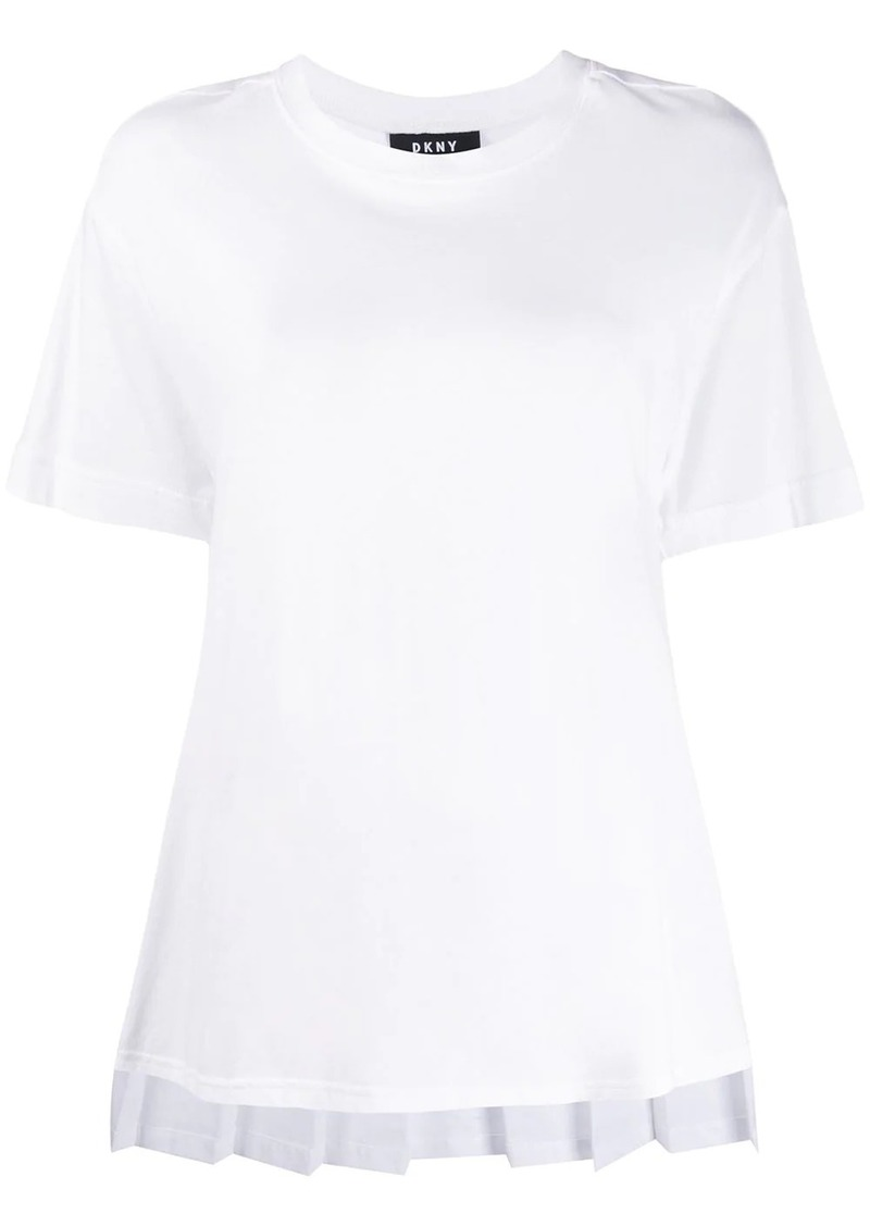 DKNY oversized crew neck T-shirt