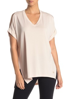 DKNY Oversized High/Low T-Shirt