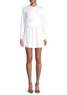 DKNY Pleated Dress