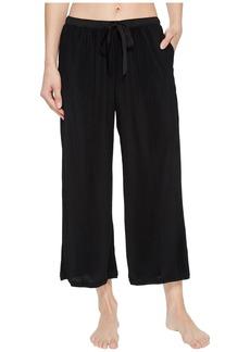 DKNY Pleated Jersey Capri Pants