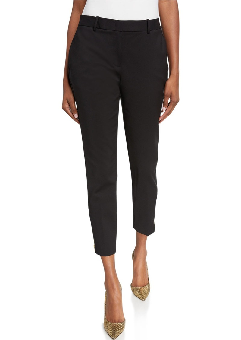 DKNY Ponte Ankle Zip Pants